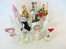 Vintage Avon Bells Mixed Lot of 16 Holidays Floral Bird Bunny #3271