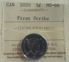 2020 Canada 5 Cent *First Strike* ICCS MS-66