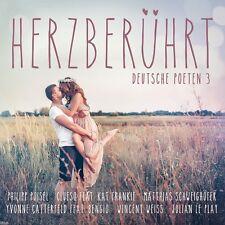 HERZBERÜHRT - DEUTSCHE POETEN 3 (REVOLVERHELD, CHRISTINA STÜRMER, ...) 2 CD NEU