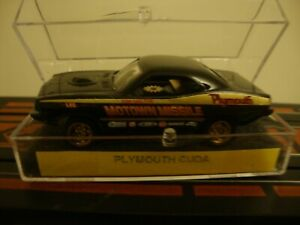 1970 Plymouth Cuda Motown Missile Don Carlton HO tjet Slot Car