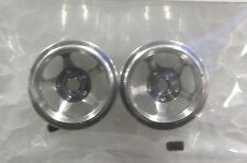 CB DESIGN 0315 CBD0315 5 SPOKE SILVER ALUMINUM WHEELS 15x12 1/32 SLOT CAR PART