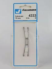 4333 VIESSMANN - ECHELLE Et - CATÉNAIRE - 70MM. 5U Fahrdraht 70 mm, 5 Pièce
