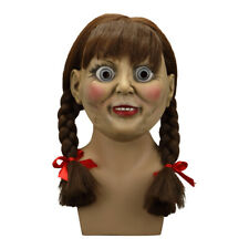 Cosplay 2019 The Conjuring Annabelle Mask Halloween Scary Adult Mask Props New