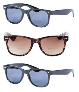 3 Pair of Classic Bifocal Outdoor Reading Sunglasses for Men and Women
