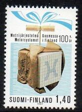 FINLAND MNH 1987 The 100th Anniversary of the Metric System in Finland