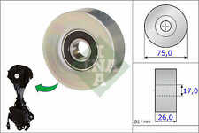 PEUGEOT 207 Auxiliary Belt Idler Pulley 1.4,1.6 2006 on Deflection INA Quality