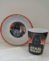 Star Wars Villians Melamine Kids Bowl and Cup (2002)