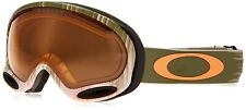 New OAKLEY A-FRAME 2.0 SNOW Wet/Dry Olive/Orange w/ Persimmon OO7044-43 029