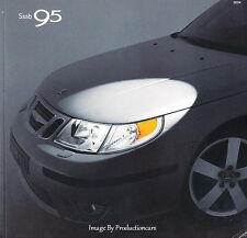 2004 SAAB 95 and 9-5 68-page Original Car Sales Brochure Catalog -Aero Arc Wagon