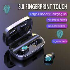 Us 3500mAh Tws Bluetooth 5.0 Headset Handsfree Wireless Earphones Mini Earbuds
