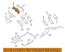NISSAN OEM 99-04 Frontier-Exhaust Manifold 140044S103