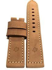 Panerai Vintage Assolutamente Strap 24mm Tan / Genuine OEM Factory