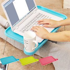 Laptop Table Notebook Desk Plastic Foldable Folding Bed Table Computer Desk