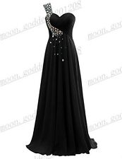 Long Chiffon Wedding Evening Formal Party Gown Ball Bridesmaid Prom Dress 6-22