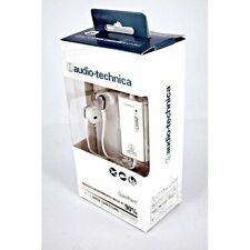 Audio Technica QuietPoint headphone ATH-ANC23 White Noise-Cancelling New