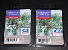 Better Homes & Gardens Scented Wax Cubes FRESH CYPRESS GARLAND / 2 Packs