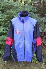 "Vtg Nike Windbreaker Jacket ""Phase II Athletic Club"" Retro Color Block Sz  XXL"