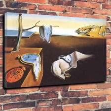 "Salvador Dali persistance de temps toile imprimée photo A1.30""x20"" 30 mm Deep"