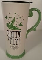 Wizard of Oz Gotta Fly! Witches Flying Monkey Ceramic Microwave Travel Mug NEW