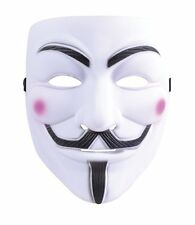 Anonymous V For Vendetta Guy Fawkes Face Mask Halloween Fancy Dress P7797