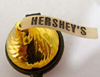 Hershey's Kiss GOLD Trinket Box, Hinged, Midwest of Cannon Falls 1997 Vintage
