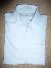 C&A Herrenhemd, Kurzarm Hemd Gr. L hellblau **TOP**