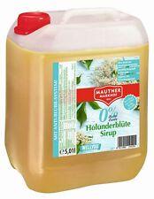 Mautner Markhof Holunder 0% Zucker Sirup 5l