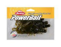 """Berkley 1307382 Powerbait Crazy Legs Chigger Craw 4/"""" Green Pumpkin Sinkbait Lure"""