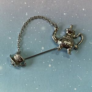 Avon Teapot and Cup Stick Pin