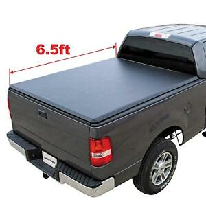 OEDRO 6.5' Soft Truck Bed Tonneau Cover for 2002-2018 Dodge Ram 1500 2500 3500