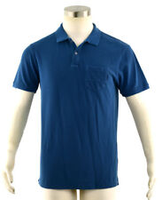 NWT SCOTCH & SODA Men's True Blue 100% Cotton Garment Dyed Polo ~ L