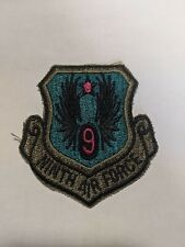 Vintage Military Patch: Ninth Air Force