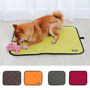 1 Pc Pet Portable Mat Waterproof Oxford Kennel Pad Soft Pet Dog Resting Cushion