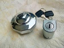 Honda CA175 CB CL SL XL 100 SL70 CS90 S110 Tank Cap Fuel Filler + Steering Lock