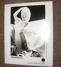 Madonna 1990 Original SIRE PROMOTIONAL ONLY 8 x 10 PHOTO By Lorraine Day MINT!