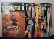 Jonny Quest #s: 11,12,13,14,15,16,17,18,19,20 (Comico, 1987) Lot of 10