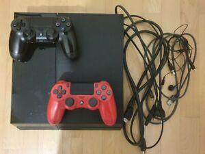 PS4 FAT 500gb Nero + 2 controller Dualshock 4