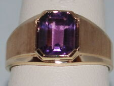 10k Gold ring with an Amethyst(February birthstone)