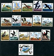 Ascension Island 196-211 MNH Birds 1976: Canary Fairy tern Waxbill Black  x11342