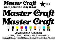 "Classic Stars & Stripes MasterCraft Decal Set 40.125"" Long"
