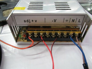 SUPERNIGHT 12V 30A 360W Transformer Switching Power Supply for LED Strip Light