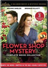 Flower Shop Mystery Complete 3 Movie Collection New Dvd Brooke Shields Hallmark