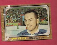 1966-67 OPC  # 81 LEAFS RON ELLIS CARD
