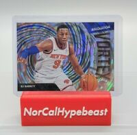 2020-21 Panini Revolution Basketball RJ Barrett Vortex #8 Insert Knicks