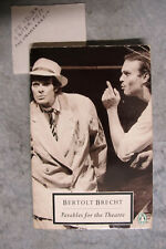 Parables For The Theatre - Bertolt Brecht woman playscript OzSellerFasterPost