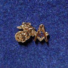 Masonic Lapel Pin Marine Blue Lodge Collectible Rare