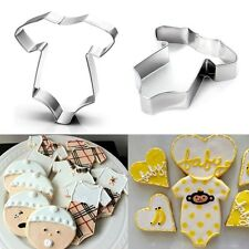 Stainless Steel Baby Shower Biscuit Pastry Cookie Cutter Cake Decor Mold Tool