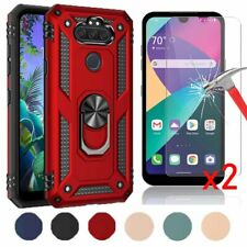 For LG Aristo 5/k31/Phoenix 5/k30/Risio 4 Case Holster Cover With Tempered Glass
