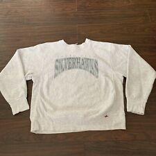 South Bend Silverhawks Mens XL Long Sleeve Vintage MLB Sweatshirt Made in USA