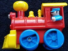 1996 BATTERY OPERATED ONE PIECE CHILD TOY TRAIN WITH LIGHTS & SOUND